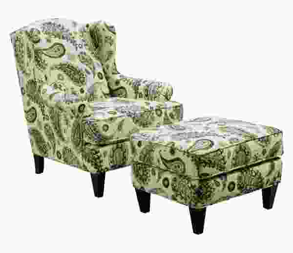 Graham 9055 Chair and Ottoman