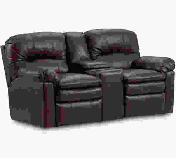 Touchdown Power Reclining Console Loveseat