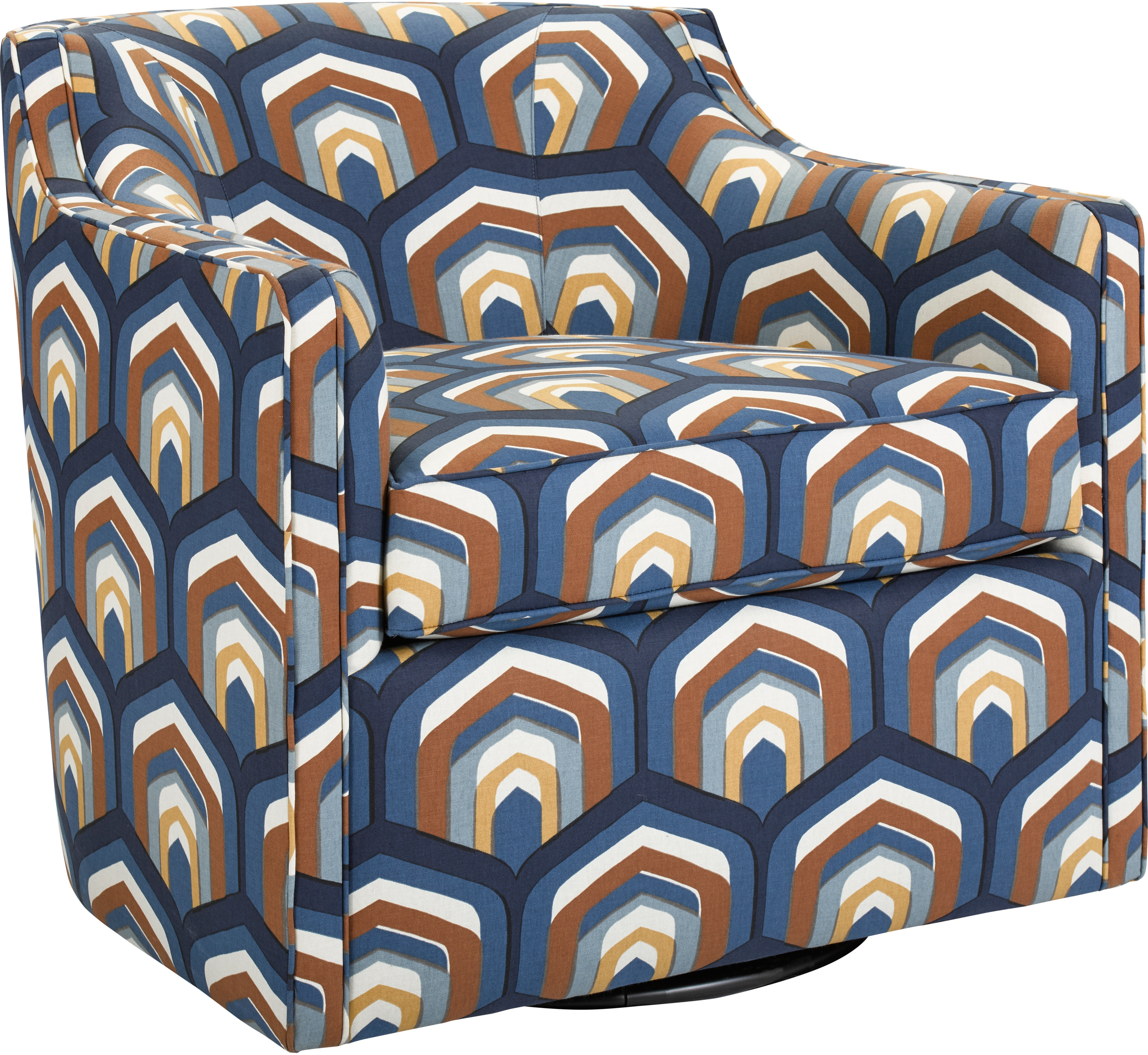 Pleasing Gayle 9079 8 Swivel Chair 9079 8 Sofas And Sectionals Alphanode Cool Chair Designs And Ideas Alphanodeonline