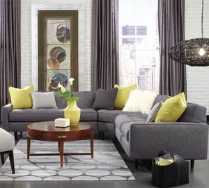 Brady N710 Sectional  350 Fabrics And Colors. By Rowe