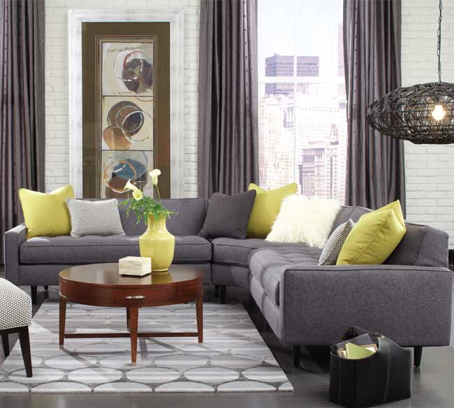 Brady N710 Sectional- 350 Fabrics and Colors | Sofas and ...