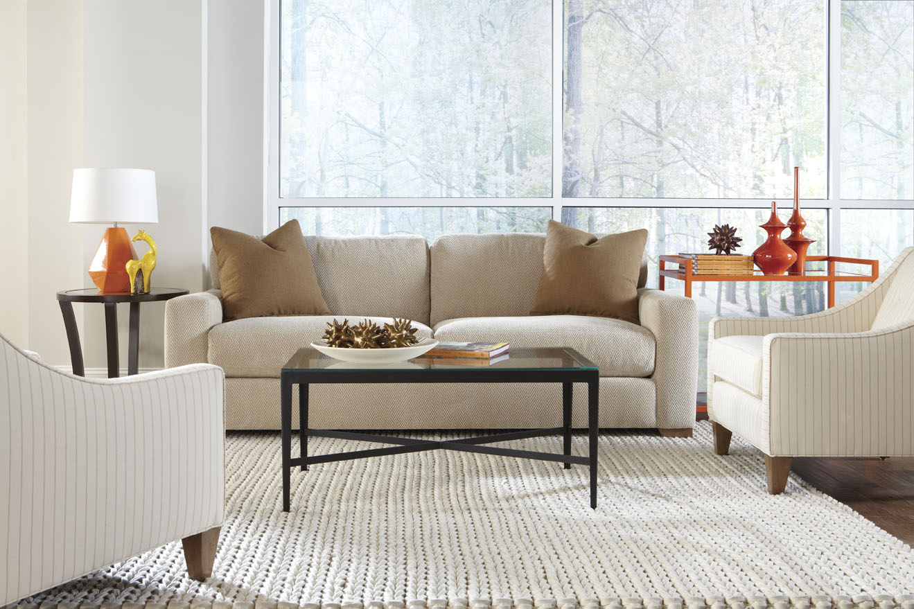 Dakota N390 Sofa Collection - 350 Fabrics and Colors : rowe sofas and sectionals - Sectionals, Sofas & Couches