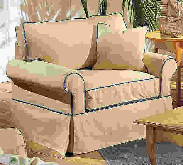 Hermitage 7880 Slipcover Sofa Collection - 350 Fabrics and Colors