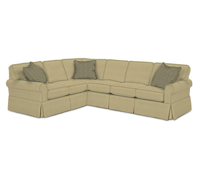 Hermitage Slipcover 7880 Sectional 350 Sofas And Sectionals