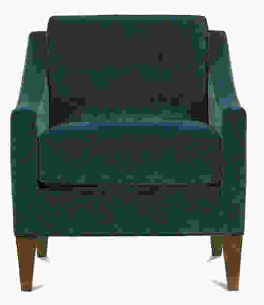 Keller S341 Accent Chair and Ottoman - 350 Fabrics and Colors