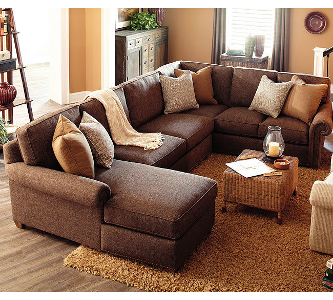 Morgan N700 Sectional - 350 Fabrics and Colors : rowe sectional sofas - Sectionals, Sofas & Couches