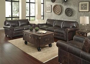 Good Hardwick 1001 Leather Sofa In Brompton Chocolate   IN STOCK FAST FREE  SHIPPING
