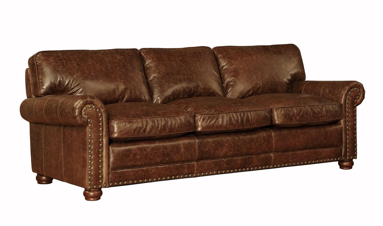 Fabulous Hardwick 1001N Leather Sofa In Cocoa Brompton Sofas And Ncnpc Chair Design For Home Ncnpcorg