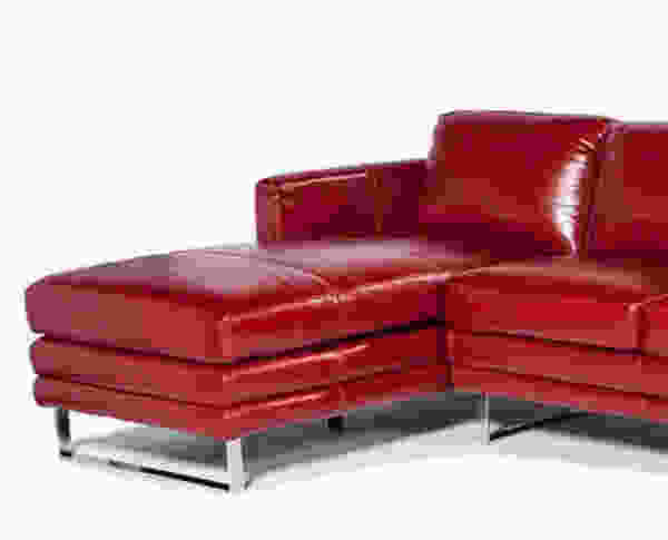 Melbourne 1003 lsf chaise leather sectional in sofas and for Chaise furniture melbourne