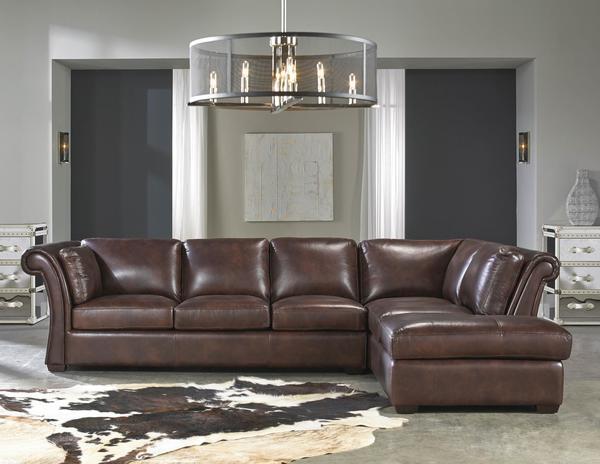 artisan sectional sofa angelina 1437 rsf chaise leather sectional sofas and sectionals