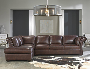 Angelina 1437 LSF Chaise Leather Sectional   IN STOCK FAST FREE SHIPPING