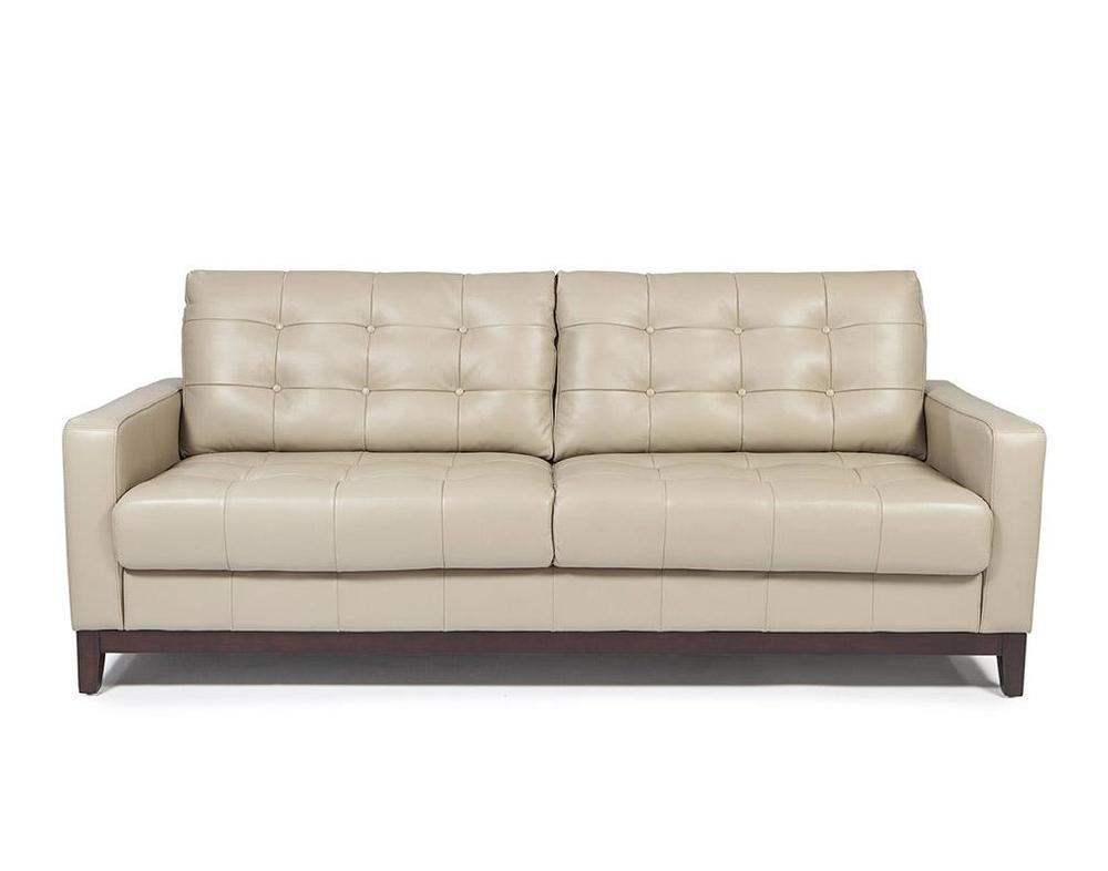 Clayton 100 Top Grain Leather In Taupe