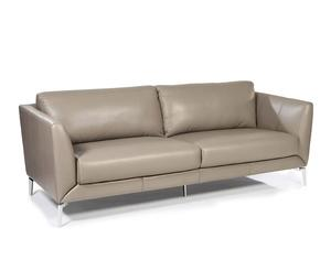 Anvers 1546 Leather Sofa In Adobe IN STOCK FAST FREE DELIVERY