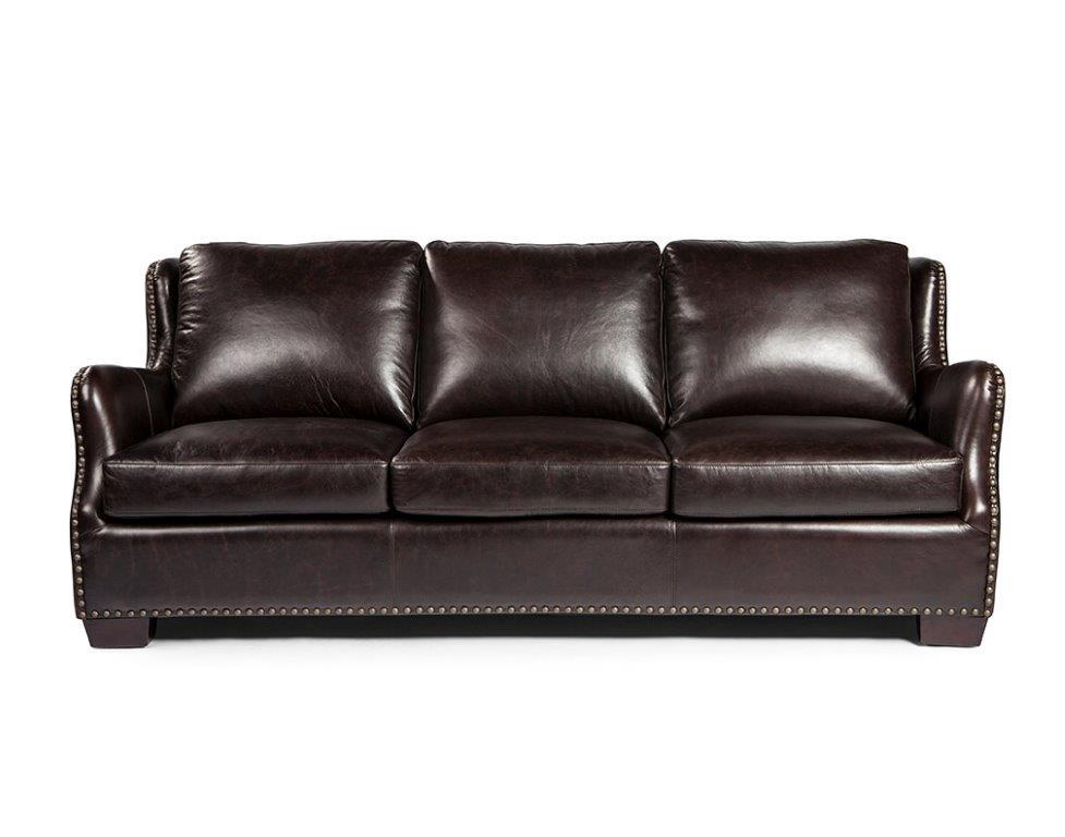 Surprising Vicar 1628 Leather Sofa In Brompton Chocolate Sofas And Ncnpc Chair Design For Home Ncnpcorg
