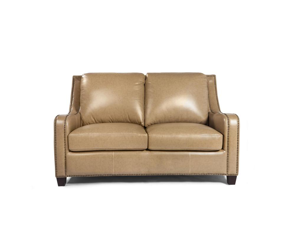Denver 1636 Leather Sofa In Camel