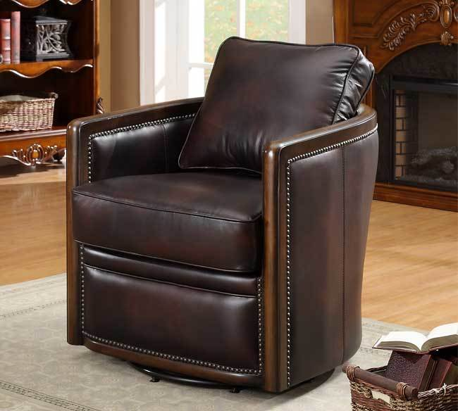 Lisbon Swivel Tub Chair In Buckeye In Stock Sofas And Sectionals