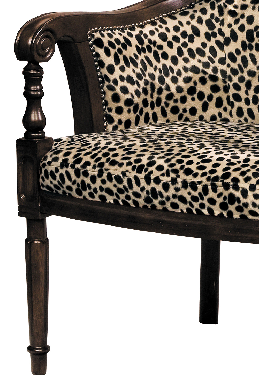 Superb Lena Animal Print Accent Chair 11492 Sofas And Sectionals Ocoug Best Dining Table And Chair Ideas Images Ocougorg