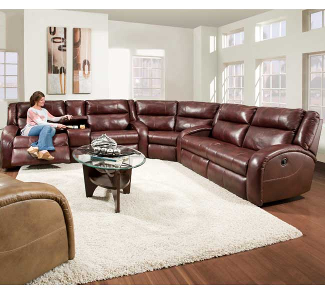 Maverick 550 Reclining Sectional Sofas and Sectionals