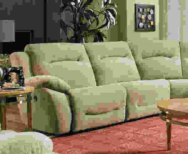 Eclipse 566P Reclining Sectional - Choice of Colors