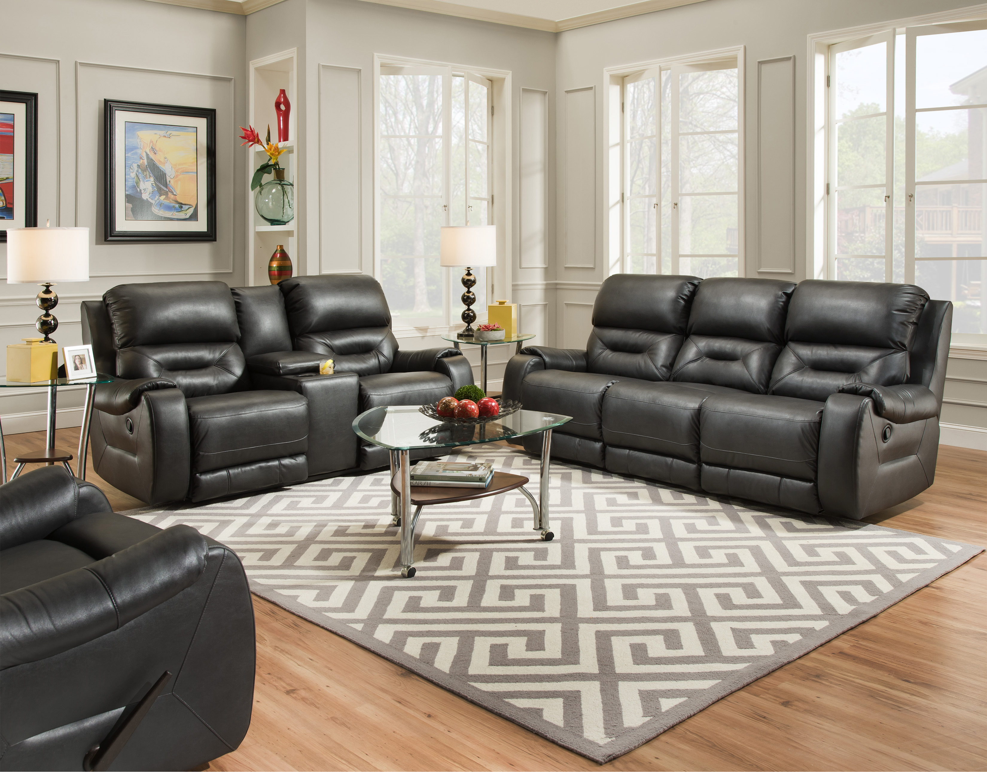 Southern Motion Harrison Reclining Sofa | Taraba Home Review
