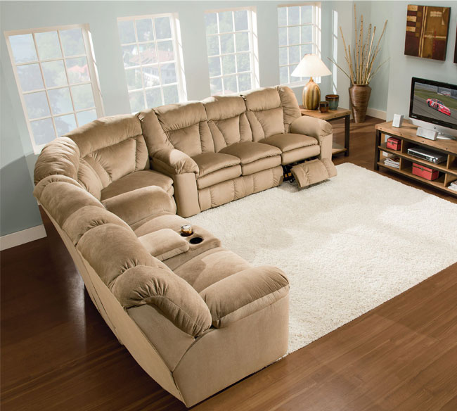 Talon 249 Reclining Sectional : lane talon sectional - Sectionals, Sofas & Couches