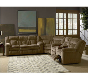Talon Reclining Sleeper Sectional 249 By Lane