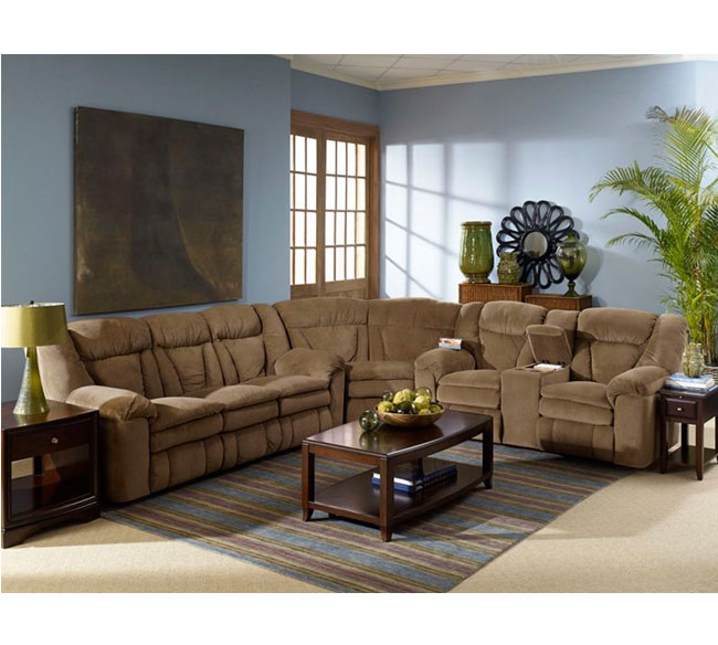 Talon Reclining Sleeper Sectional 249