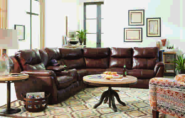 Monaco 564 Reclining Sectional - Choice of Colors