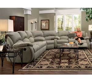Cagney 705 Reclining Sectional. By Southern Motion