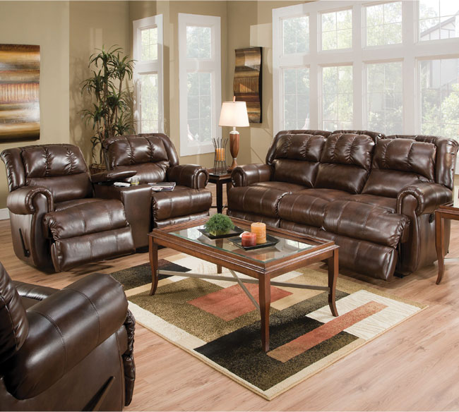 Evans 323 Reclining Sofa Collection. By Lane