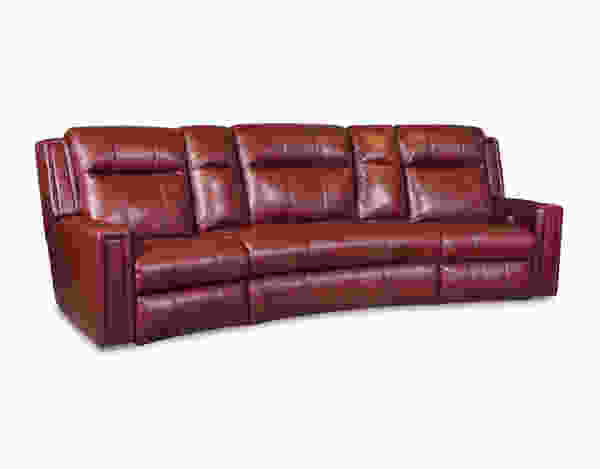 Curve 858P Reclining Sectional