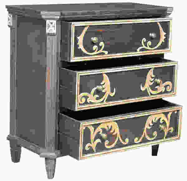 Khan Three-Drawer Accent Chest