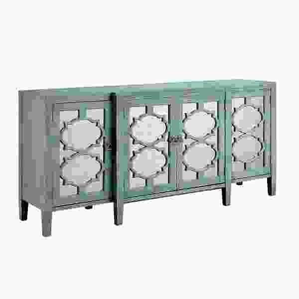 Carrie Four Door Breakfront Credenza