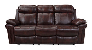 Joplin Power Reclining Sofa in Leather