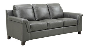 Sienna All Leather Sofa