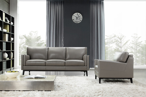 Osman 352 Leather Sofa Collection   IN STOCK FAST FREE SHIPPING. By Moroni