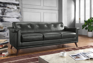 Kak 356 Leather Sofa Collection   IN STOCK FAST FREE SHIPPING. By Moroni