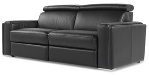 Ellie 1184 Leather Reclining Sofa Collection   IN STOCK FAST FREE SHIPPING.  By Moroni