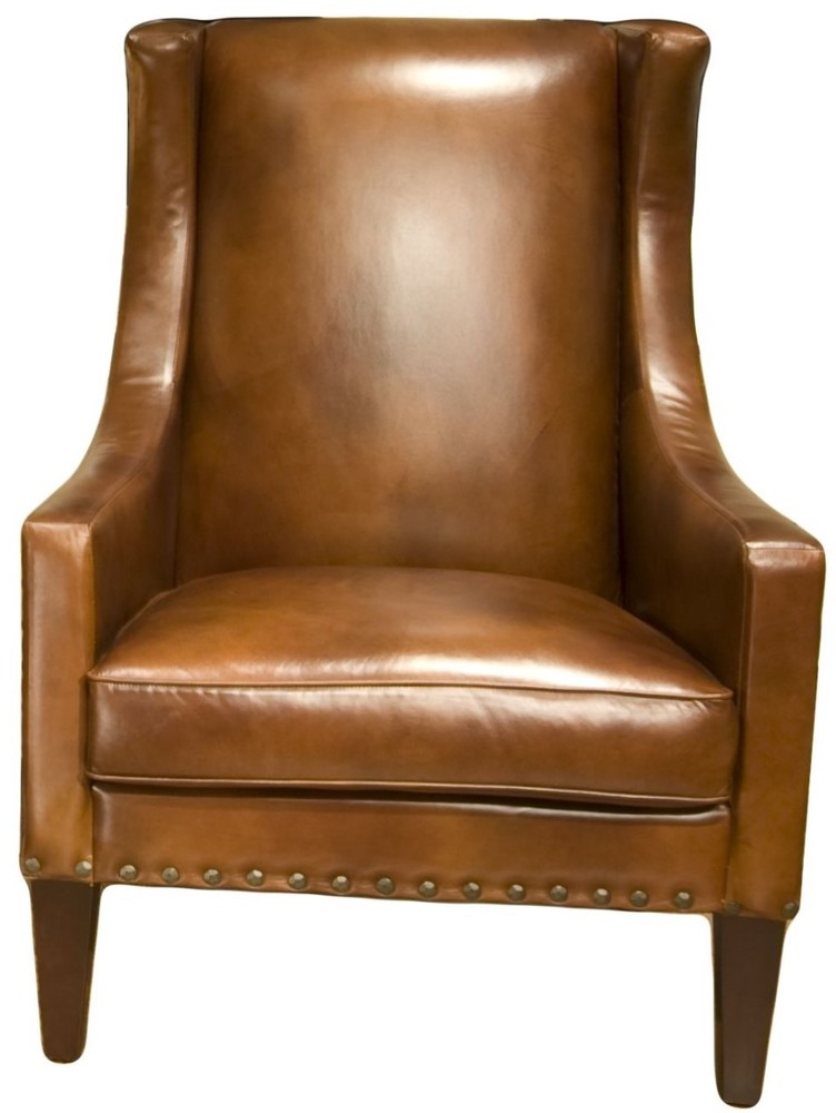 Prime Bristol Top Grain Leather Accent Chair In Sofas And Sectionals Short Links Chair Design For Home Short Linksinfo