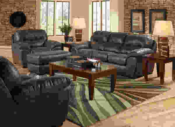 Grant 4453 Bonded Leather Sofa Collection