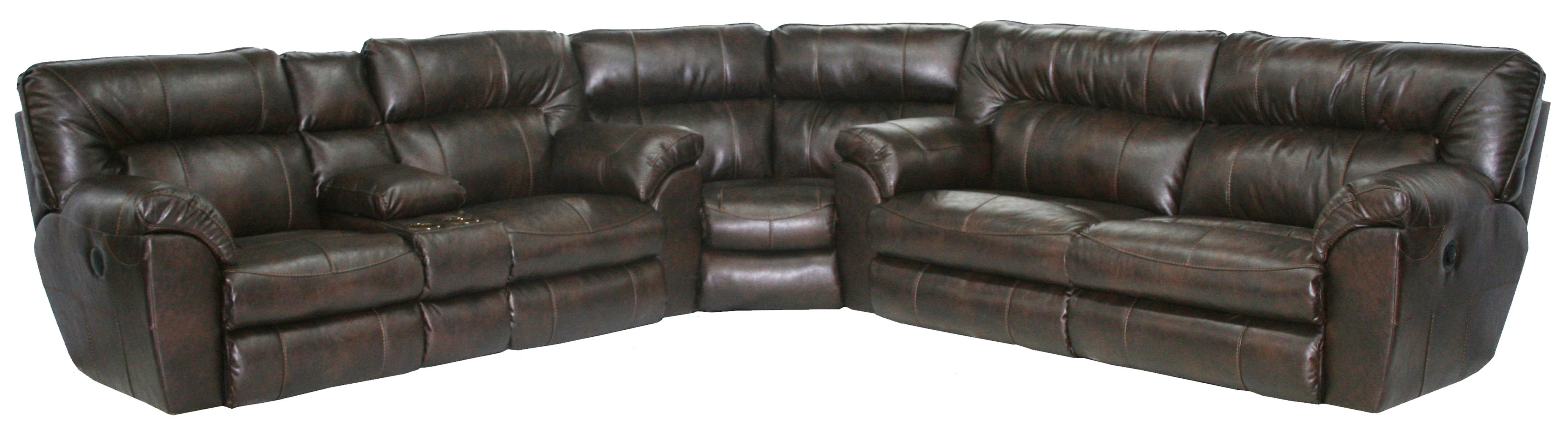 Groovy Nolan Reclining Sectional Extra Wide Seats Sofas And Inzonedesignstudio Interior Chair Design Inzonedesignstudiocom