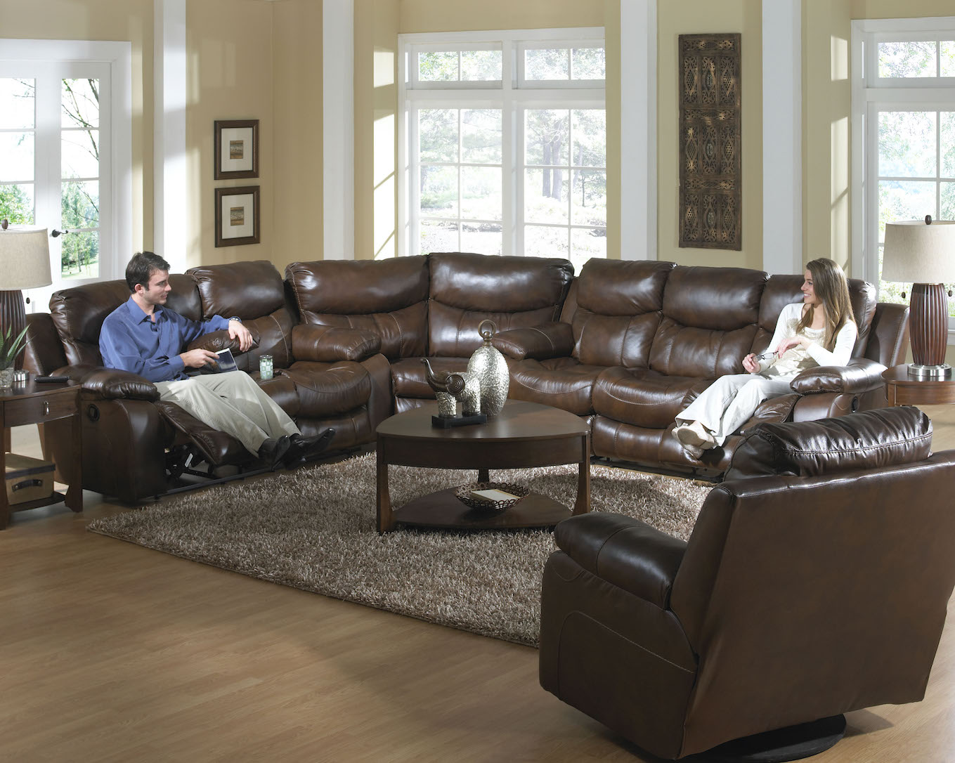 Dallas 495 Reclining Sectional Sofas
