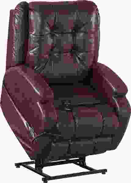 "4855 Jenson Power Lift Lay Flat Recliner w/ ""Dual Motor"""