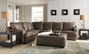 Barrington 4265 Leather Sectional. By Jackson : jackson furniture sectional - Sectionals, Sofas & Couches