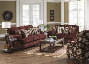Everest 4377 Stationary Sectional Sofas And Sectionals