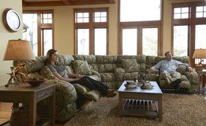 appalachian 131 reclining sectional by catnapper