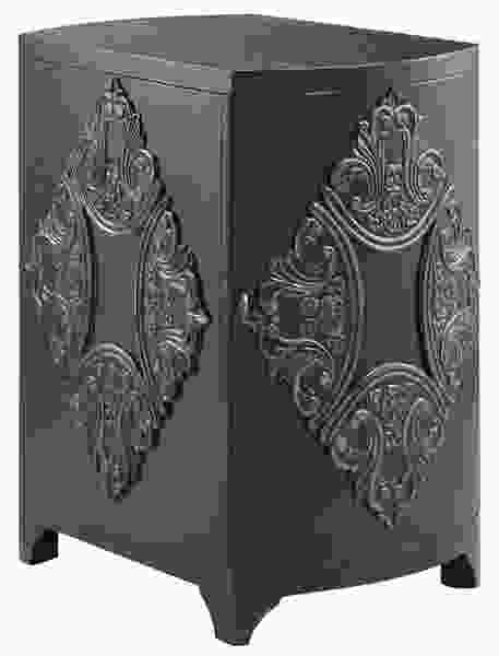 Penelope Black Accent Cabinet