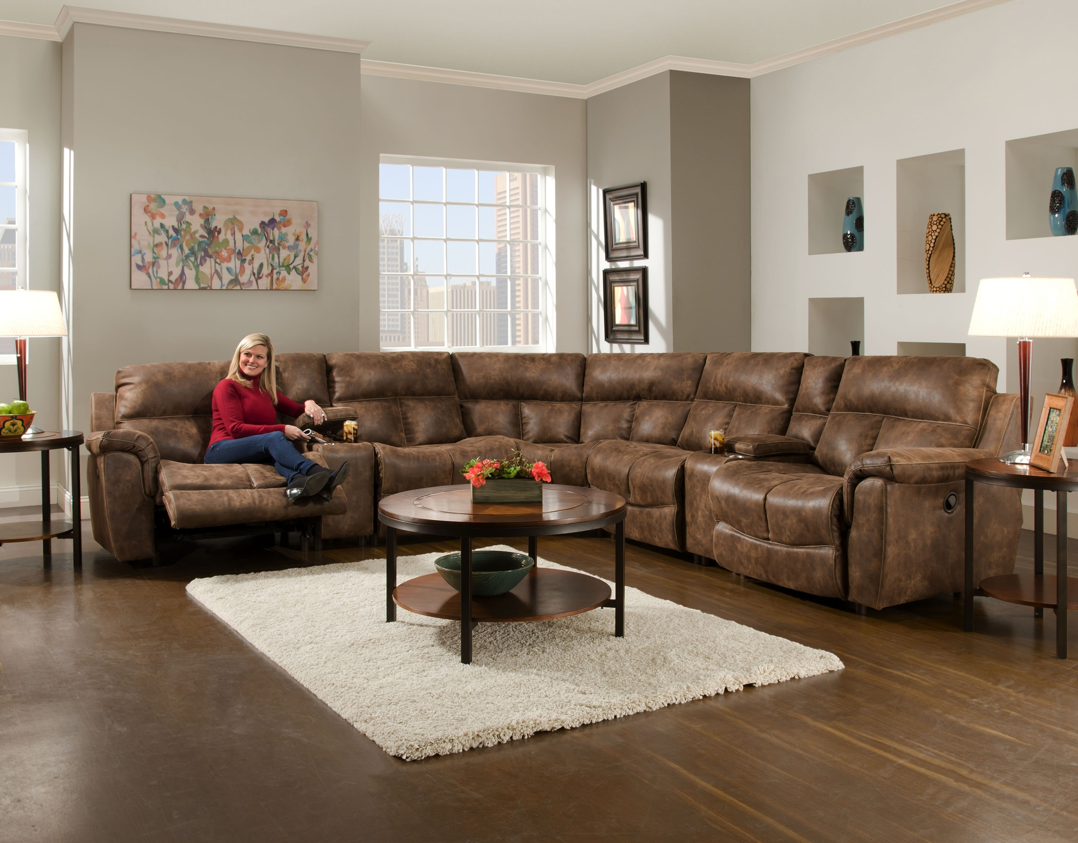 Stallion 466 Reclining Sectional