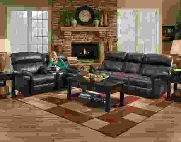 Butler 471 Reclining Sofa Collection in Coffee