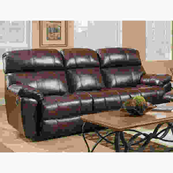 Butler 471 LEATHER Reclining Sofa Collection in Walnut